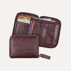 Mark Wallet Chocolate Brown