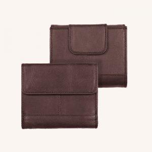 Pesos Wallet Chocolate Brown