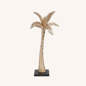 Gold Coconut Tree Marble Base