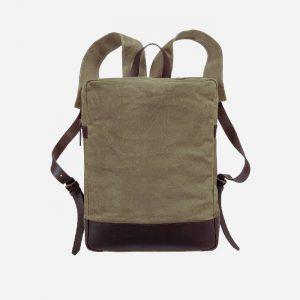 Paras Canvas Backpack Khaki
