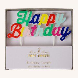 Happy Birthday Candle Multi