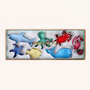 Under The Sea Cookie Cutters Set of 6
