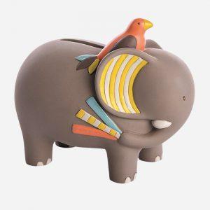 Les Papoum Elephant Money Box