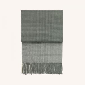 Horizon Alpaca/Wool Throw Botanic Green