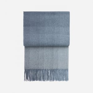 Horizon Alpaca/Wool Throw Midnight Blue
