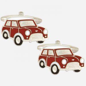Red Mini Car Cufflinks