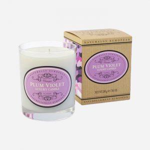 Plum Violet Candle