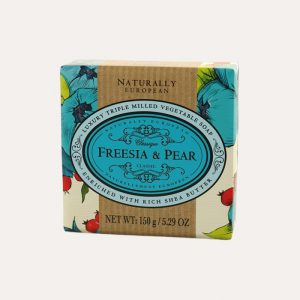 Freesia and Pear Wrapped Soap