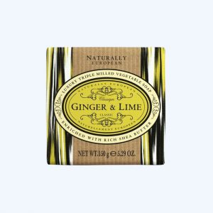 Ginger and Lime Wrapped Soap