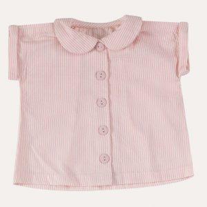 Peter Pan Collar Blouse Pink
