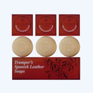 Spanish Leather Hand Soap Set
