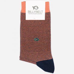 Stripe Socks Coral