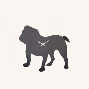 British Bulldog Wagging Tail Clock