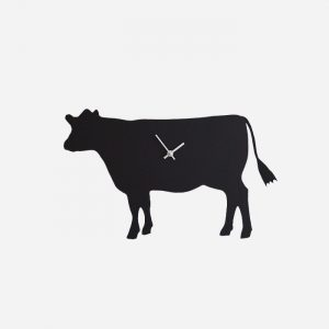 Cow Wagging Tail Clock