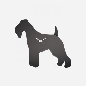 Fox Terrier Wagging Tail Clock