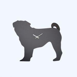 Pug Wagging Tail Clock