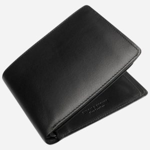 Classic 8 Card Wallet Black