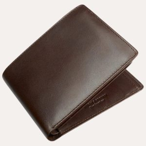 Classic 8 Card Wallet Brown