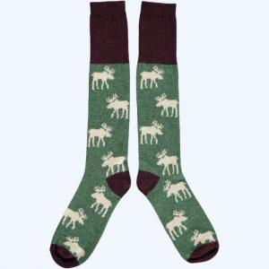Lambswool Moose Knee Socks