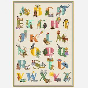 Alphabet A3 Print