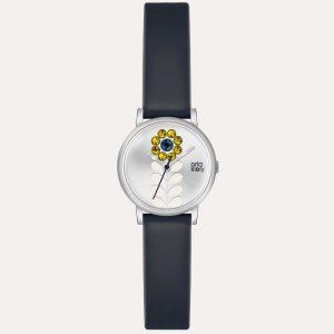 Valentina OK2047 Navy Leather Watch