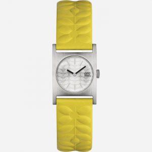 Nemo OK2129 Yellow Leather Watch