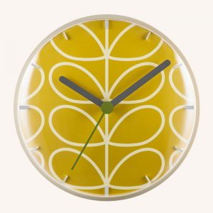 Linear Stem Wall Clock Dandelion