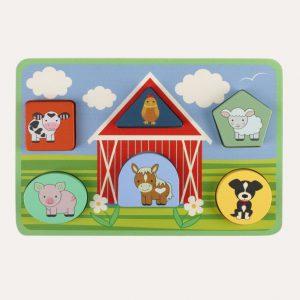 Farm Mini Tray Puzzle Set
