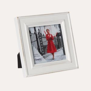 Paloma Distressed White Frame