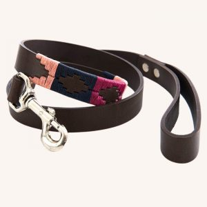 Polo Dog Lead 855 Berry/Navy/Pink