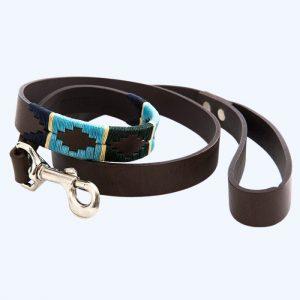 Polo Dog Lead 856 Green/Blue/Navy/Cream