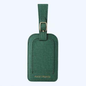 Luggage Tag Green