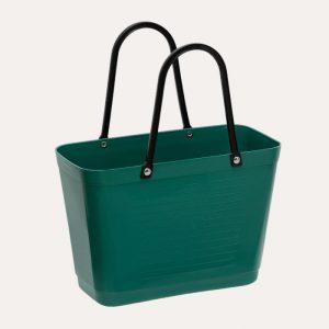 Green Plastic Small Dark Green Bag