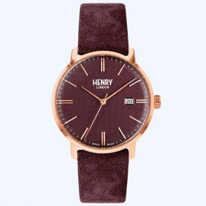 Regency Suede Watch Plum