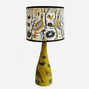 Gamebird Lampshade Regular Mustard