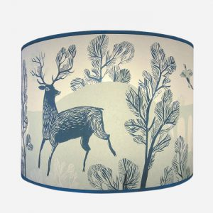 Stag Pendant Lampshade Regular Blue