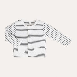 Cardigan Grey Stripe