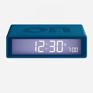 Flip + Reversible Alarm Clock Duck Blue