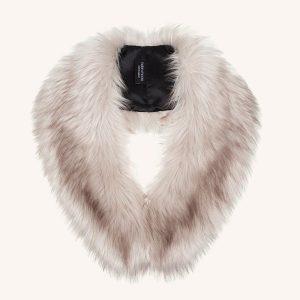Faux Fur Darcy Collar Oyster