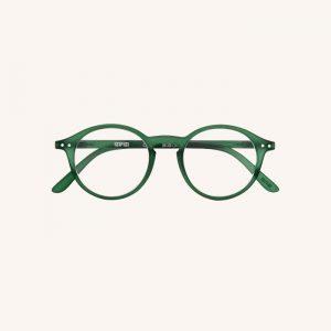 #D Reading Glasses Green