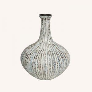 Athen Stone Stripe XXL Vase
