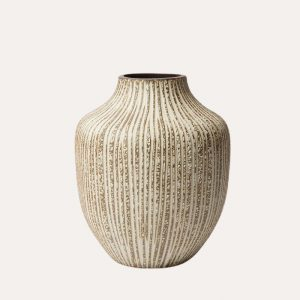 Kyoto Stone Stripe Vase
