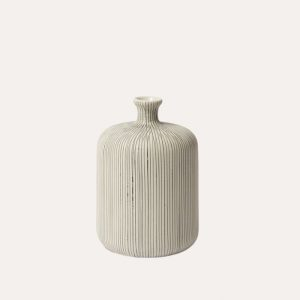 Bottle Grey Medium Vase