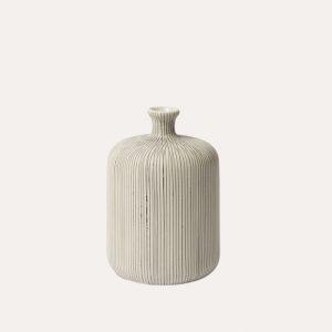 Bottle Grey Medium Vase