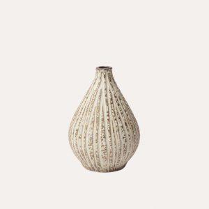 Kobe Stone Stripe Vase
