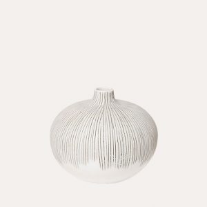 Bari Grey Fade Medium Vase
