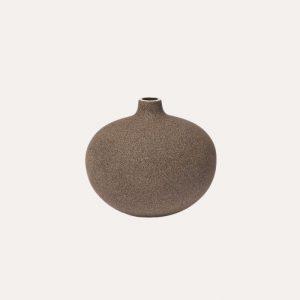 Bari Dark Sand Medium Vase