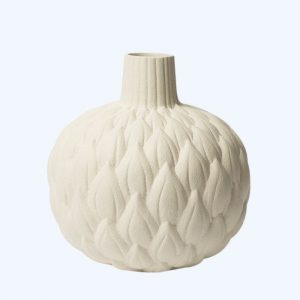 Relief Astrid Cream White Vase