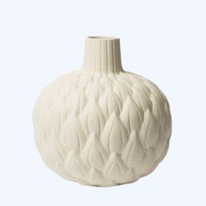 Relief Astrid Cream White Vase