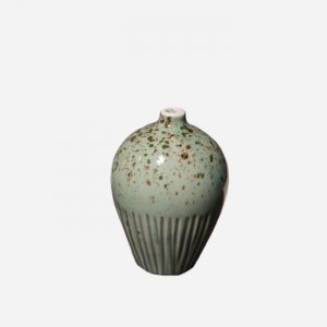 Ebba Freckles Green Small Vase